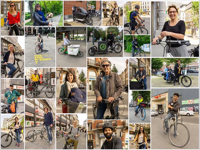 Un petit extrait du travail de Cyclists of Brussels.